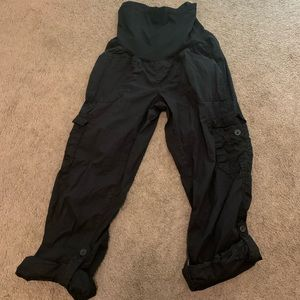 Motherhood maternity Black pants Size M